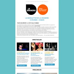 La newsletter de la Grainerie