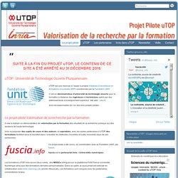 """Newsletter uTOP-Inria n°30 : """"Usages innovants en e-éducation"""""""