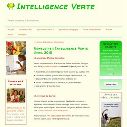 Newsletter Intelligence Verte Avril 2015