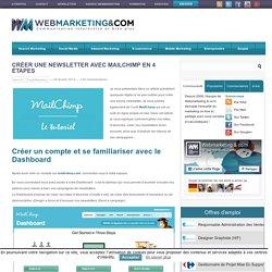 Créer une newsletter avec MailChimp en 4 étapes