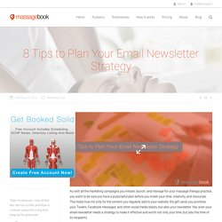 8 Tips to Plan Your Email Newsletter Strategy