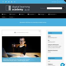 [Newsletter #95] Passer du e-learning au mobile learning