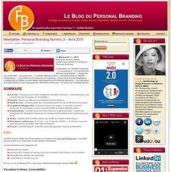 Newsletter- Personal Branding Numéro 3 – Avril 2010 » newsletter