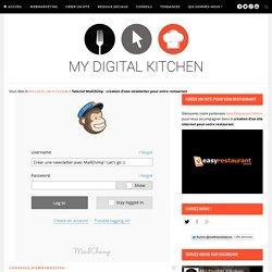 Tutoriel Mailchimp : Créez une newsletter pour votre restaurant