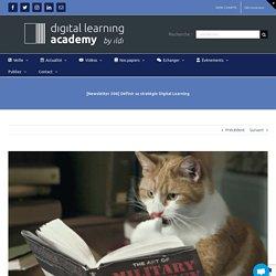 [Newsletter 206] Définir sa stratégie Digital Learning