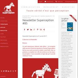Newsletter Superception #85