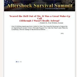 s Aftershock Survival Summit