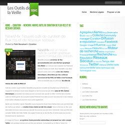 NewsMix. Nouvel outil de curation de flux rss et de reseaux sociaux