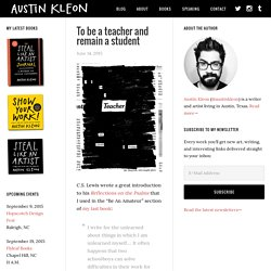 NEWSPAPER BLACKOUT POEMS by Austin Kleon