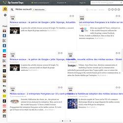 Médias sociaux<span class='subt'>fr</span> on The Tweeted Times