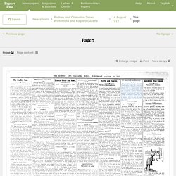 Rodney and Otamatea Times, Waitemata and Kaipara Gazette