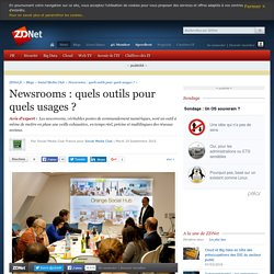 Newsrooms : quels outils pour quels usages ?