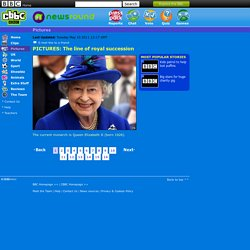 CBBC - Newsround - PICTURES: The line of royal succession