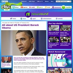 CBBC Newsround - All about US President Barack Obama