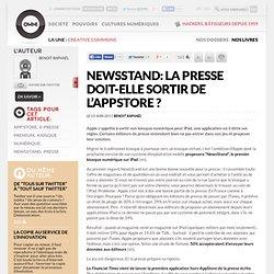 NewsStand: la presse doit-elle sortir de l'AppStore ?