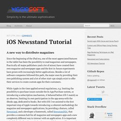iOS Newsstand Tutorial - Viggiosoft Blog