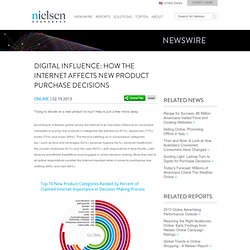 Digital Influence: How the Internet Affects New Product Purchase Decisions