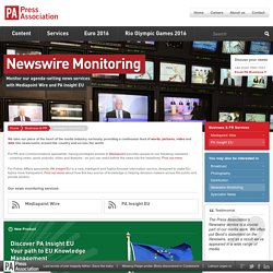 Newswire Monitoring