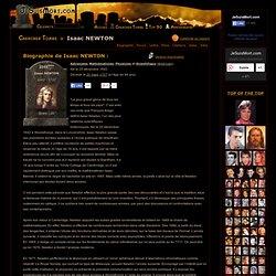 Isaac NEWTON : Biographie d'Isaac NEWTON