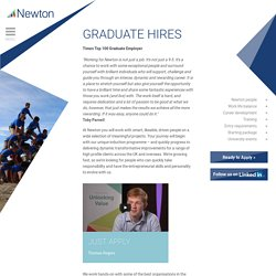 Newton - Graduate hires