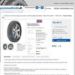 Nexen N blue Eco 195/55 R16 91V XL 4PR BSW - gommadiretto.it