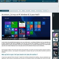 Next INpact - Au secours, j'ai reçu un PC Windows 8(.1) pour Noël ! (Page 1)