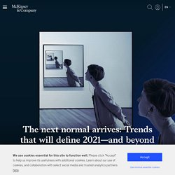 The Next Normal: Business Trends for 2021