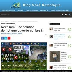 NextDom, une solution domotique ouverte et libre ! - Blog Nord-Domotique