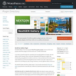 Wordpress pearltrees for Nextgen template editor