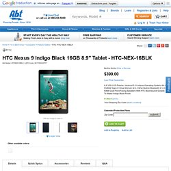 "HTC Nexus 9 Lunar 8.9"" 16GB 8.9"" Tablet - HTC-NEX-16WHT"