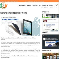 Nexus Refurbished Phone