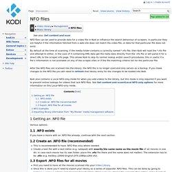 NFO files