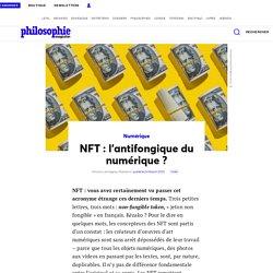 NFT: l'antifongique du numérique?