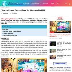 Tặng code game Thương Khung Chi Kiếm mới nhất 2020