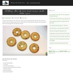 Hướng dẫn tự làm bánh donut chuối thơm ngon