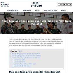 Mẫu đồng Phục Quân đội Nhân Dân Việt Nam Mới Nhất Năm 2020