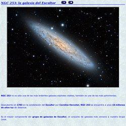 NGC 253: la galaxia del escultor