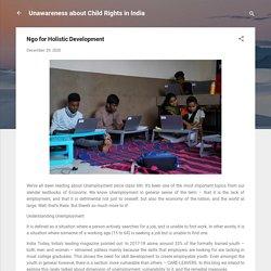 Ngo for Holistic Development