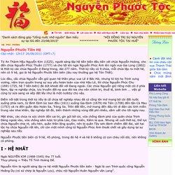 Nguyễn Phước Tộc Việt Nam