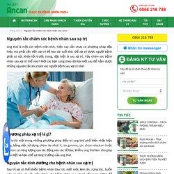 Nguyên tắc chăm sóc bệnh nhân sau xạ trị