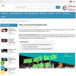 Nhạc nước phố đi bộ Nguyễn Huệ - địa điểm thăm quan lý tưởng