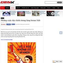 Những cuộc đại chiến trong làng forum Việt - Next web