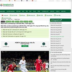 Nhận định Luxembourg vs Bồ Đào Nha, 1h45 ngày 31/3