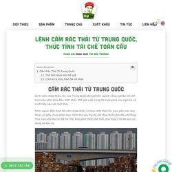 Lệnh Cấm Rác Thải Từ Trung Quốc, Thức Tỉnh Tái Chế Toàn Cầu