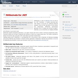 NHibernate for .NET