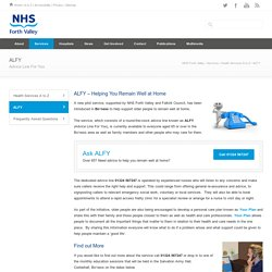NHS Forth Valley – ALFY
