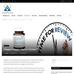 Niagen's Hype: Fact or Fiction?