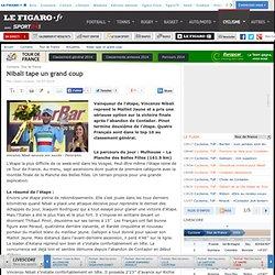 Nibali tape un grand coup - Tour de France - Cyclisme -