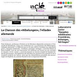 La Chanson des «Nibelungen», l'«Iliade» allemande — Allemand