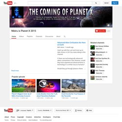 Nibiru is Planet X 2015